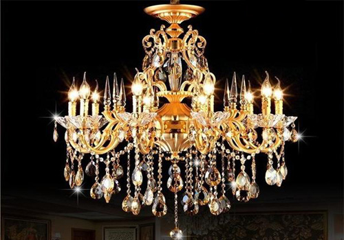 欧式灯具水晶吊灯0675-10