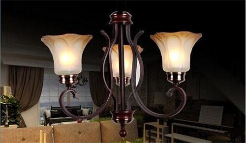 8611-3美式灯具|别墅灯具图片