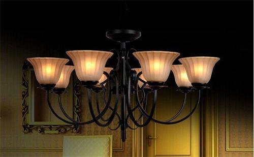 8670-8美式风格别墅灯具图片