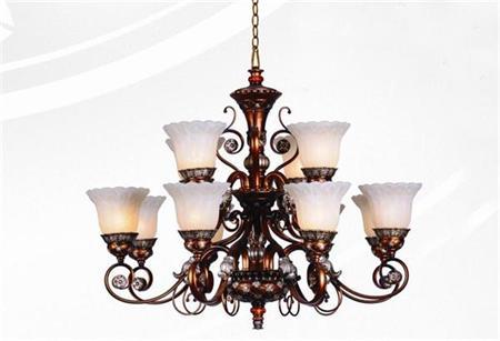 【工程】欧式铁艺吊灯装修效果图片_价格优惠 多款风格任您挑选