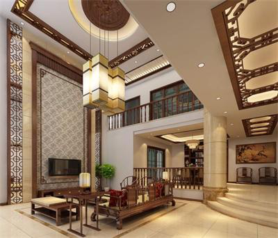 复式楼别墅客厅吊灯选择欧式吊灯还是中式吊灯呢?