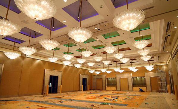 五星级酒店宴会厅灯光设计需要注意什么