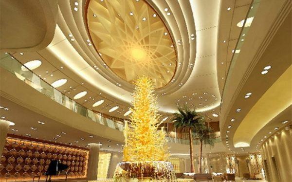 酒店大厅灯光的设计