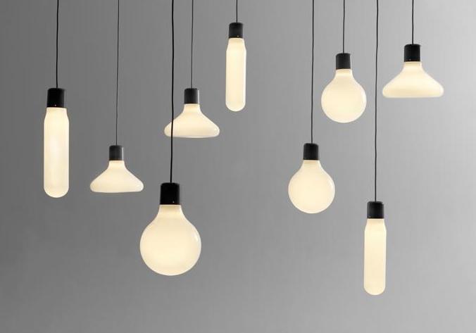 中式灯具也好, 欧美风吊灯也好,其光源也大都是基础的几类灯泡