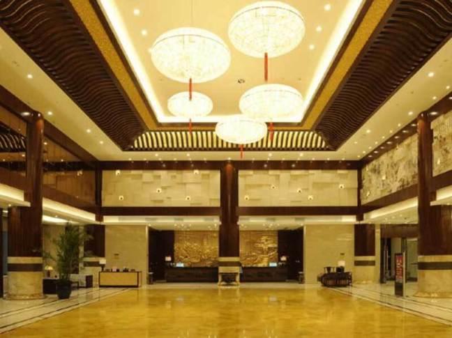 無錫賓館酒店接待大廳燈光設計方案